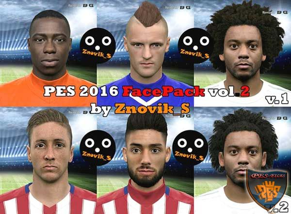 Pes 2016 International FacePack vol.2 by Znovik_S