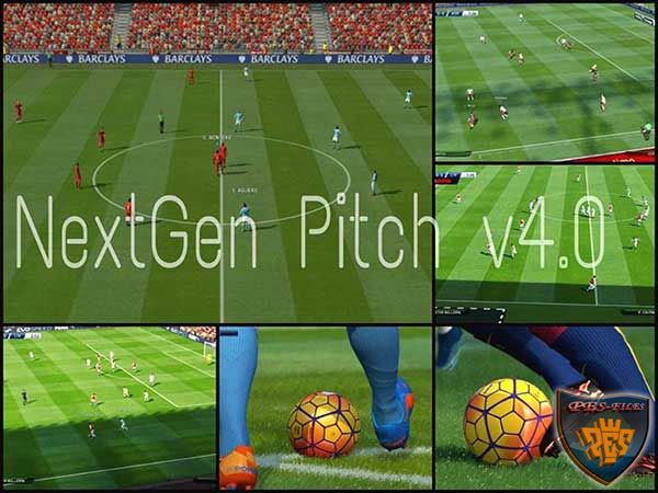 NextGen Pitch v4.0 PES 2016 by Donyavia