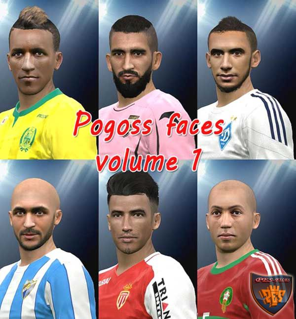 Pes 2016 FacePack1 by pogoss