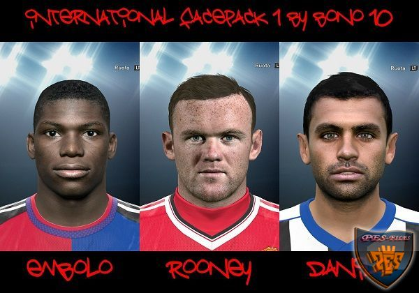 PES 2016 Inrernational Facepack № 1 by Bono 10