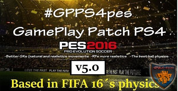 GPPS4PES v5.0 Like FIFA 16 (Physics) by DevKing
