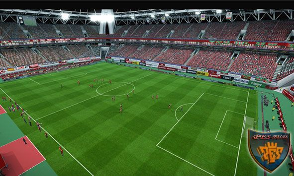 PES 2013 Lokomotiv Stadium For GDB By SKT-SRG