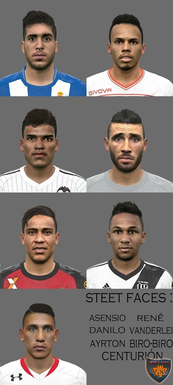 PES 2016 Facepack N°3 By Steet Facemaker