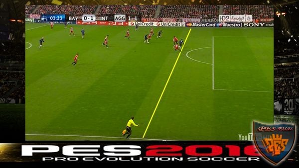 PES 2016 New Offside Line Realism