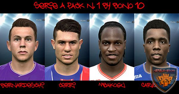 Pes 2016 Serie A Facepack 1 by Bono10