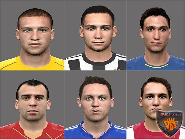 PES 2016 Serbian Players Faces Pack by Rednik