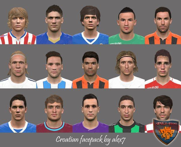 PES 2016 Croatian Facepack by alex7