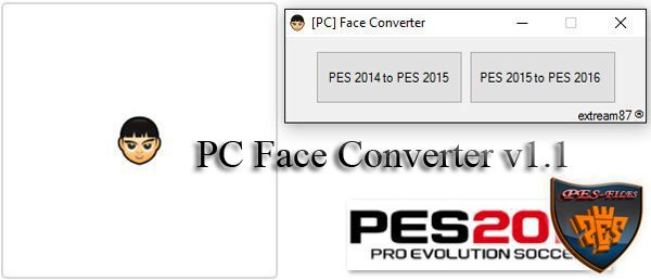PES 2016 PC Face Converter v1.1 by extream87