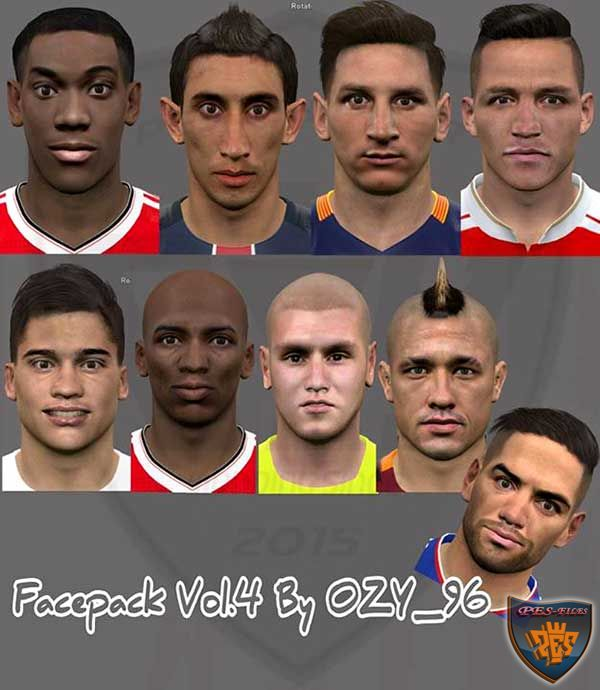 Pes 2016 Facepack Vol.4 by Ozy_96