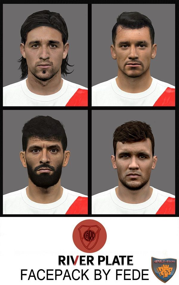 River Plate Facepack PES 2016 by Fede