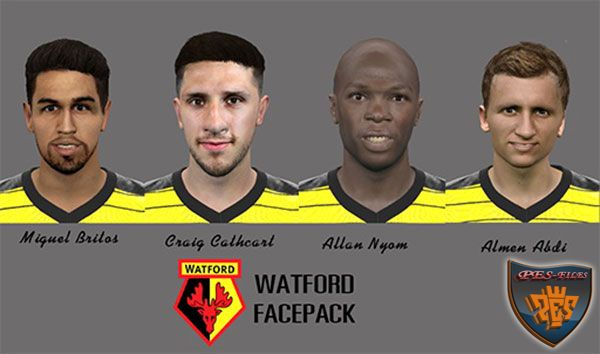 Pes 2016 Watford Facepack by Mauro
