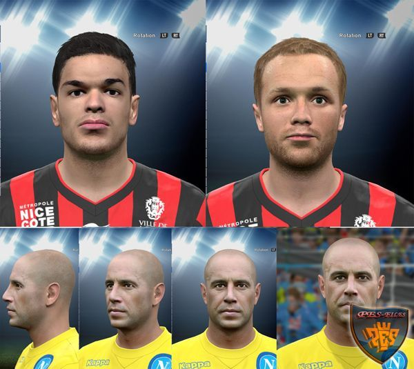 PES 2016 December Mini Facepack by Spiritusanto