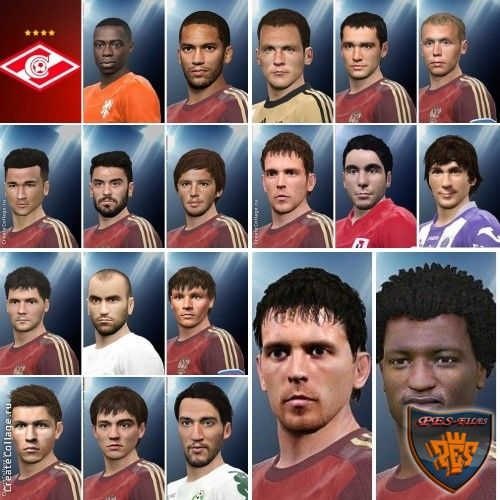 Pes 2016 Spartak Moscow Facepack by YuryGood