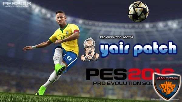 Core GamePlay Patch For PES2016 (28.11.15) by YairPatch