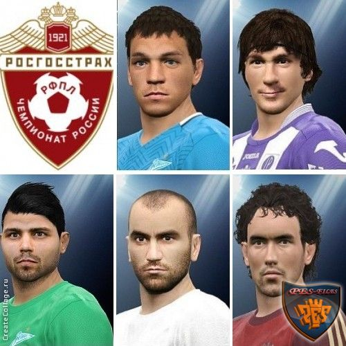 Pes 2016 RPL Face Pack by YuryGood