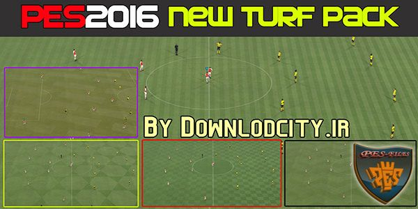 PES 2016 New Turf Pack By Downlodcity