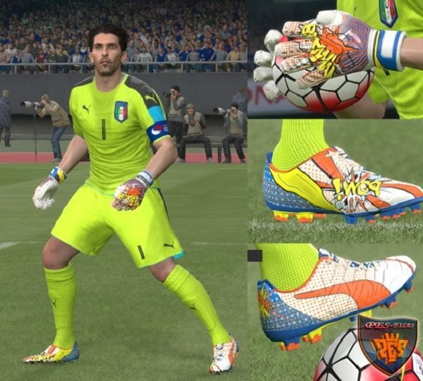 PES 2016 New POWi Puma pack (Boots and Gloves)