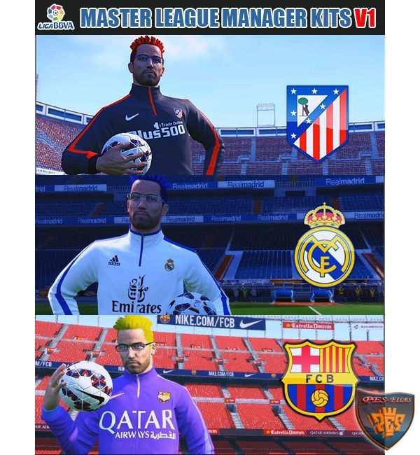 PES 2016 ML BBVA Manager Kits V1 by fifacana