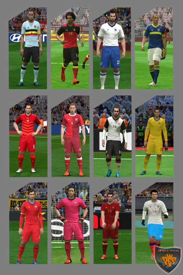 PES 2016 PC/PS4 Euro 2016 Kit by MRI_20