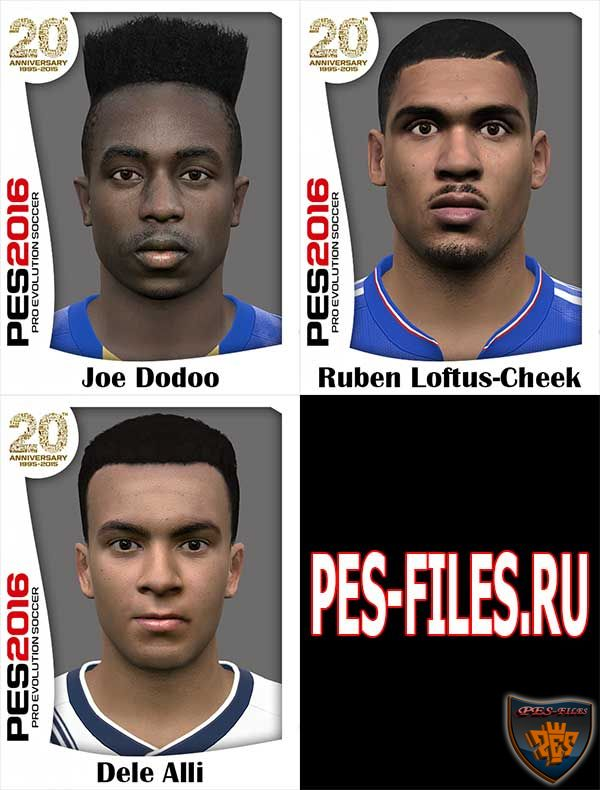 Pes 2016 Facepack Vol:6 by Hawke