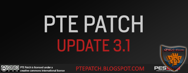 Pes 2016 PTE Patch Update 3.1