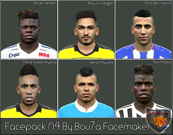 Pes 2016 Facepack N4 B by Bou7a