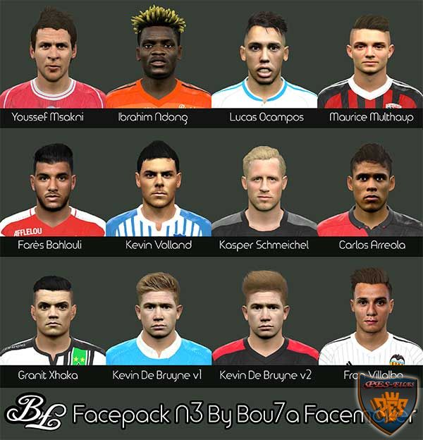 Pes 2016 Facepack N3 By Bou7a