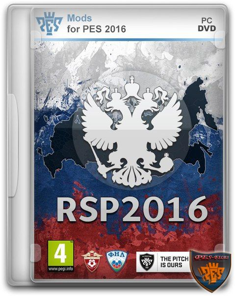 Pes 2016 RSP Patch Version 1.0