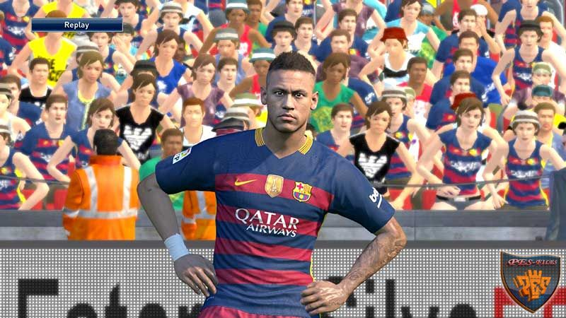 PES 2016 PS4 Graphics Mods