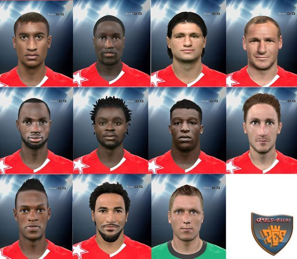 PES 2016 Faces FC Sion by djony