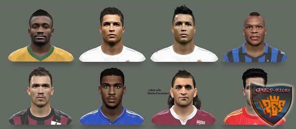 PES 2016 Facepack vol.2 by Elmodamer