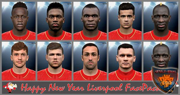 Pes 2016 Happy New Year Liverpool FacePack by Znovik_S