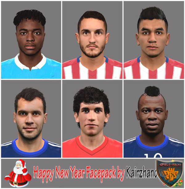 Pes 2016 Happy New Year FacePack by Kairzhanov