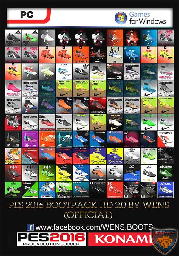 PES 2016 Bootpack HD v2.0 by WENS (Official)