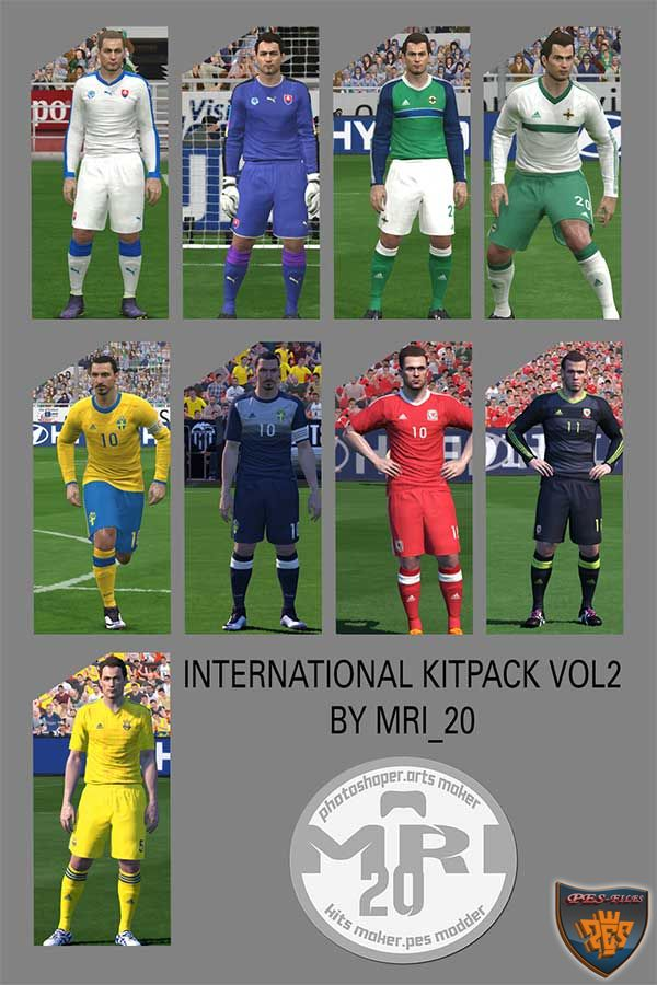 Pes 2016 International Kitpack Vol.2 by mri_20