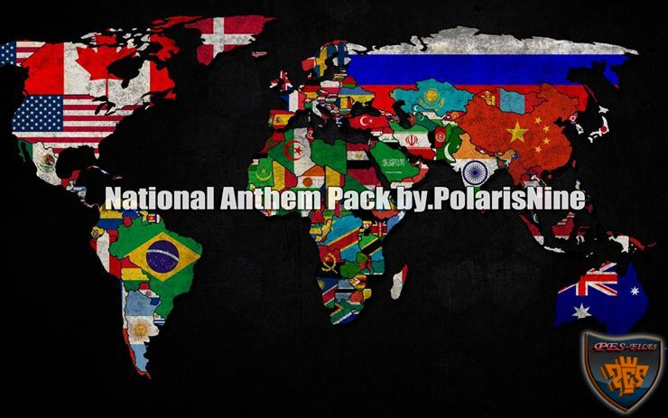 PES 2016 National Anthem Pack Update by PolarisNine