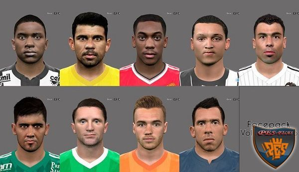 PES 2016 Facepack Vol. 2 Liberado by NiKko Facemaker