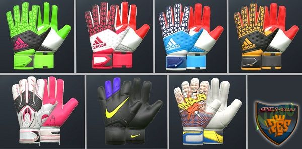 PES 2016 GK gloves 2016 v2 by FarhanA