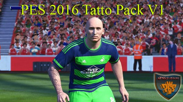 PES 2016 Tatto Pack V1 By donyavia