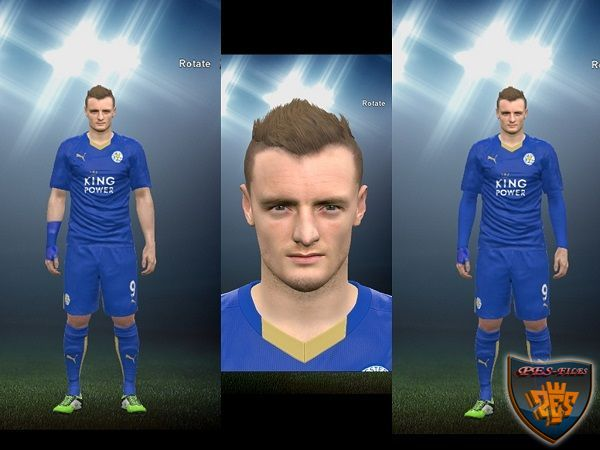 PES 2016 Jamie Vardy with Wristband by Affandi Ardianto