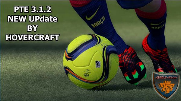 PES 2016 PTE Patch v3.1.2 New Update by HoverCraft
