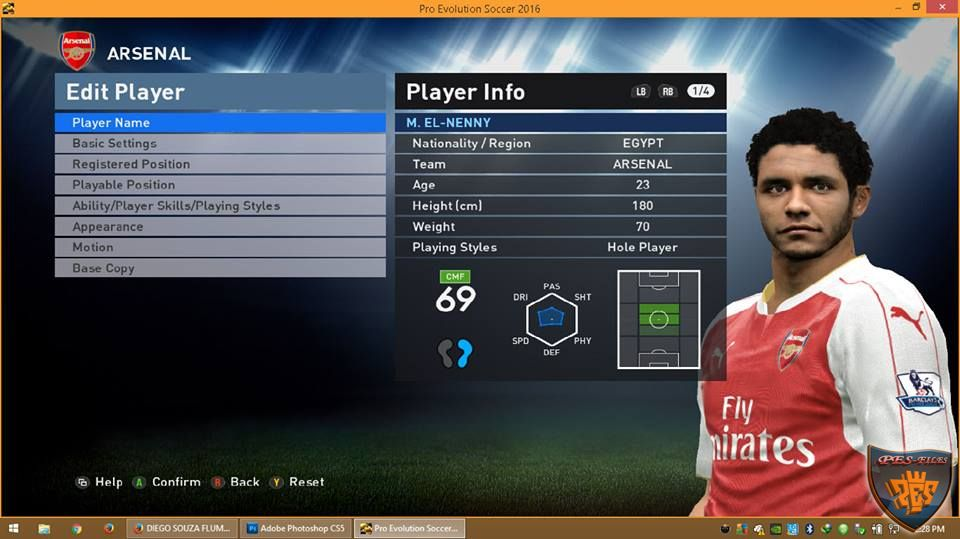Pes 2016 Update Winter Transfer 2016 For PTE 3.1