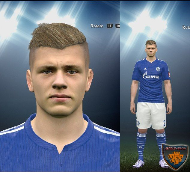 Max Meyer Face by LuzDa