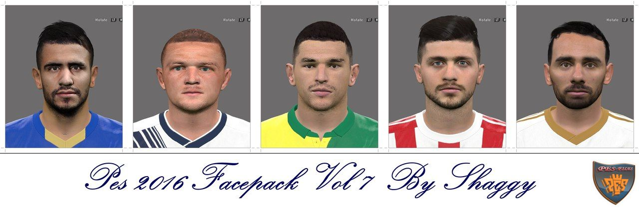Pes 2016 Facepack Vol 7 by Shaggy
