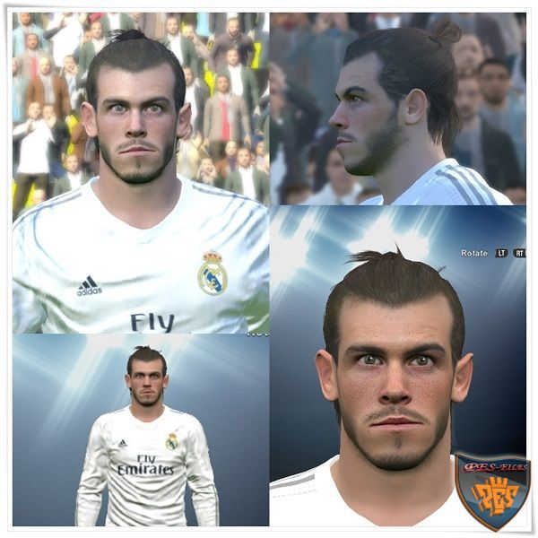 PES 2016 Gareth Bale Face by Mo Ha
