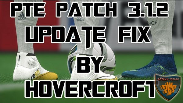 PES 2016 PTE 3.1.2 Update FIX by HoverCraft