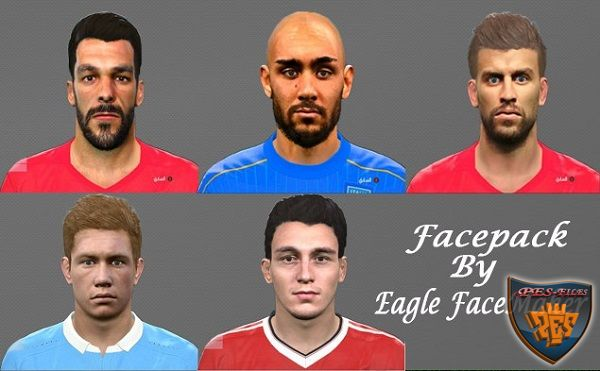 PES 2016 Facepack v.2 by Eagle FaceMaker
