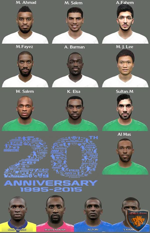 PES 2016 AFC Champions League Facepack by Elmodamer