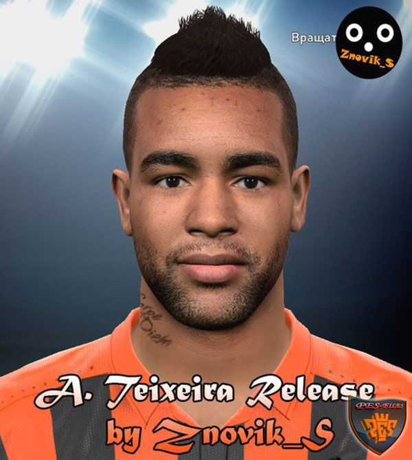 Pes 2016 Alex Teixeira Face by Znovik_S