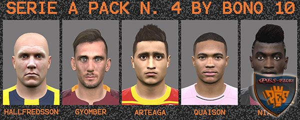Pes 2016 Serie A Facepack N°4 by Bono 10